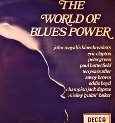 10 LP Collectie The World Of Blues Power Different Artists