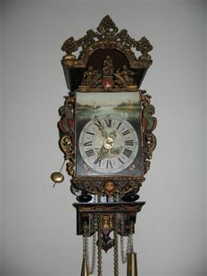 Frisian chair clock – Jouster clockmakers 2004