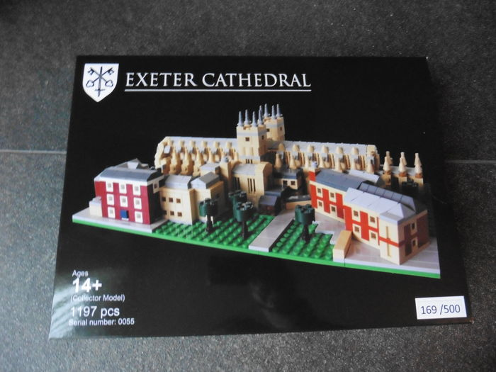 LEGO Certified Professional - Exeter Cathedral - Large model, 1197 pcs. - Number 169 of 500