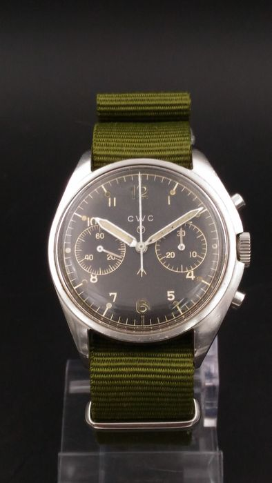 Royal Air Force CWC Chronograph - 1974