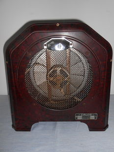 'CALOR' electric heater with bakelite case - 30's