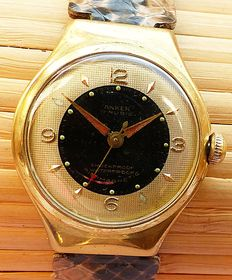 ANKER 17Rubis -- Unisex wristwatch from the 50s