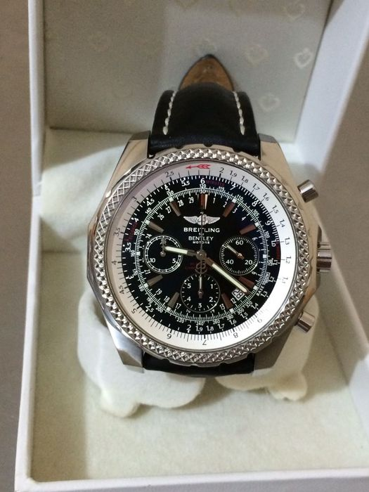 Breitling bentley motors special edition chronograph for Breitling watches bentley motors special edition a25362