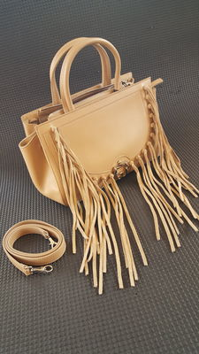Paula Cademartori -  leather bag / shoulderbag  with fringe