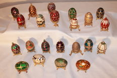 22 Eggs - Fabergé style collection