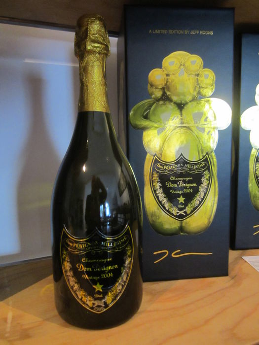 2004 Dom Pérignon by Jeff Koons Ltd Ed - 1 bottle 0.750l