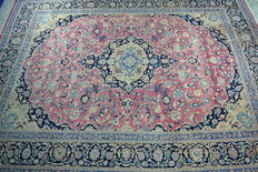 Large Sarouk carpet – hand knotted – 395 x 290 cm