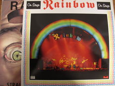 Great Lot with 6 Albums of Rainbow (1 double + 1 hard to get)