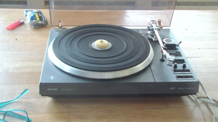 Record player Philips Electronic 876 Direct Control