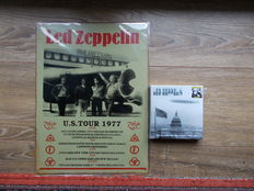 Led Zeppelin Concert  U.S Tour 1977 + box 15 , limited edition 300 copies n° 230  ,us tour 1975