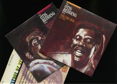 Otis Redding Story lot of four albums (complete) + History of Otis Redding as a late sixties US press