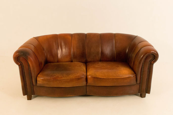 Leder Sofa Zweier Manufactured By Joris Niederlande Ca 2000 Catawiki