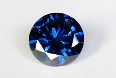 Blue diamond, 0.75 ct