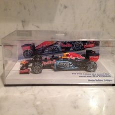 Minichamps - Schaal 1/43 - Red Bull RAcing RB 7 Max Verstappen - Kitzbuhel - Japanese version