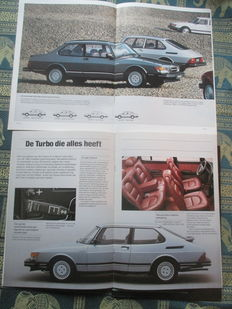 Car brochures(SAAB, including turbo, 14x, 1982-1996)