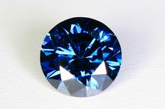 Blauwe Diamant - 0.35 ct