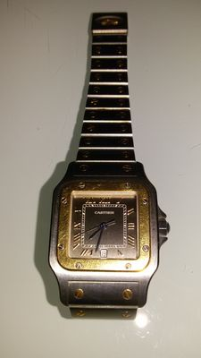 Cartier Santos Galbee – Women's wristwatch – 1990s