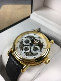 Constantin Durmont Skeleton Automatic Gold ref. 104249 – men's watch