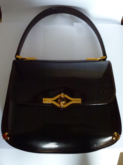 8a947552ff41 GUCCI - Kelly bag - Vintage - Probably 1950s / 60s - Catawiki