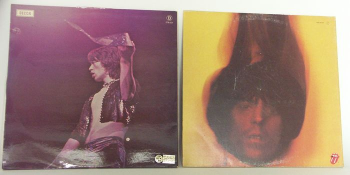 The Rolling Stones 2 Vinyl Goats Head Soup And Beggars Banquet 1968 1973