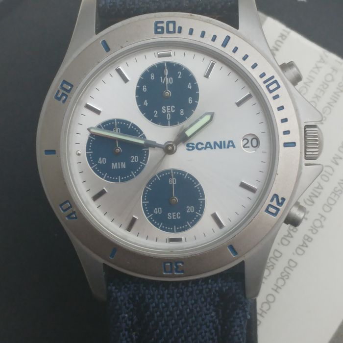 SCANIA chronograph men's wristwatch from Sweden from 2003
