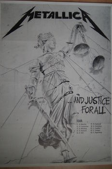 Metallica - And justice for all 1988  - Wherever I may roam 1992 - Donington Park 1991