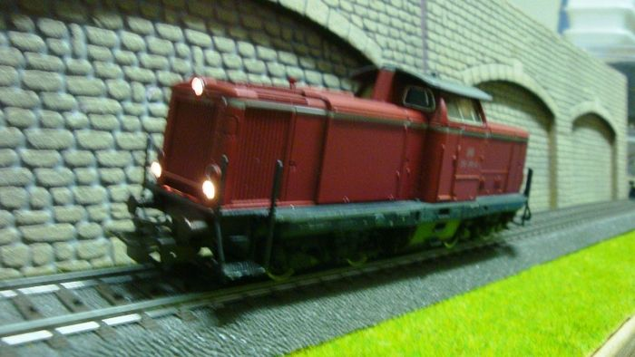 Märklin H0 - 3072 - Diesel locomotive BR 212 of the DB