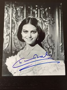 Claudia Cardinale - photos - one 8x10 photo is signed by the actress and comes with COA