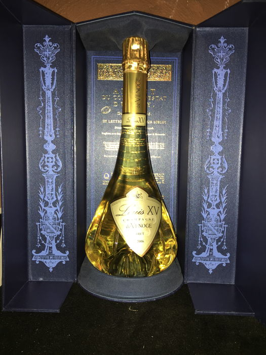 2006 Champagne Louis XV of Venoge Brut in carafe with luxury box