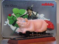 Märklin H0 - 30455 - Lucky pig locomotive with booklets