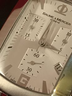 Baume et Mercier Hampton Milleis XL chronograph from 2006