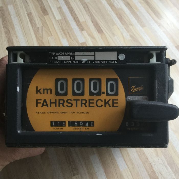 Taximeter Kienzle classic car taxi accessories
