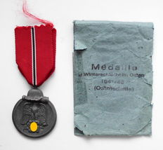"""Medal for winter battle in East """"Eastern Front Medal"""" with award pack"""