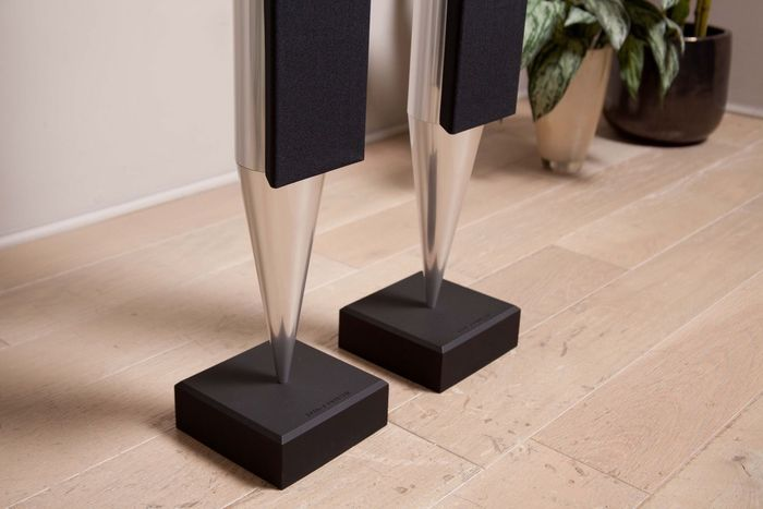 Black Pair Silver Chrome Bang /& Olufsen Beolab 8000 Speakers