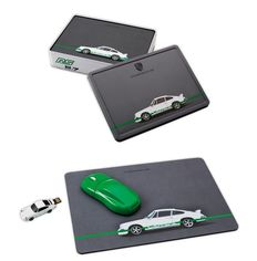 Original Porsche Office Set: Computer mouse, mat and USB stick 8 GB – Limited Edition 911 RS 2.7