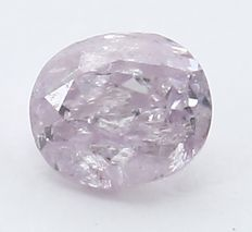 0.09 ct IGI Certified Natural Fancy Light Pink Diamond - no RESERVE