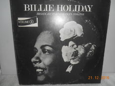 Billie  holiday  ''lot of 8 albums  incl 5 double albums''