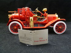 Franklin Mint - 1/32 - 1916 Ford Model T brandweer wagen
