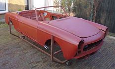 Peugeot 404 convertible - an almost complete body for restoration - Pininfarina design