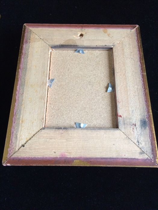lot of 5 paintings in gilded frames. - Catawiki