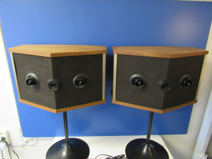 bose 901 series iv. legendary bose 901 series v speakers with equalizer on the original trumpet bases. iv