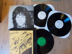 the doors lot of 2 lp  :  apocalypse now , live 1969 and  double lp the doors resurrection , french unofficial fan club release