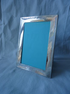 A silver photo frame, Tiffany & Co, late 20th century
