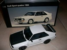 AUTOart - Scale 1/18 - Audi Sport Quattro tuning with handmade modification