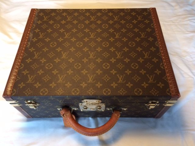 louis vuitton pr sident vintage attach koffer catawiki. Black Bedroom Furniture Sets. Home Design Ideas