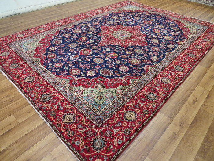 Wonderful Persian carpet, Kashan / Iran, 340 x 238 cm, end of the 20th century, - Top quality - Oriental carpet royal runner