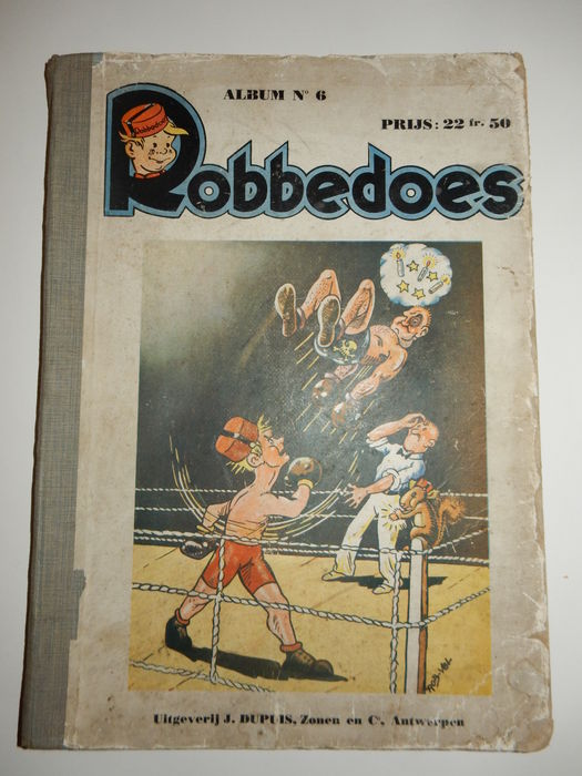 Robbedoes bundling 06 - large size hc with cloth spine - 1st edition - (1941)