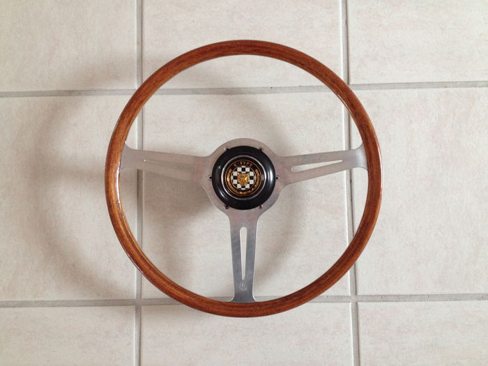 Stirling Moss - steering wheel for Jaguar E-type