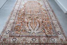 Exclusive 100% silk Kayseri Persian rug - 175 x 117 cm - collector's item - with certificate
