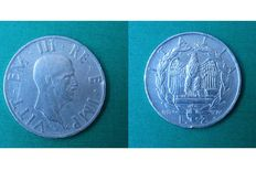 Kingdom of Italy – 2 Lire coin, 1936 – 'Empire' – Victor Emmanuel III – Silver.